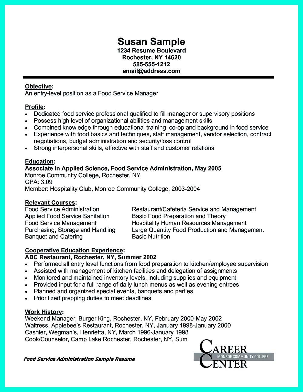 Catering Manager Job Description Your Catering Manager Resume Must Be  Impressiveto Make Impressive .