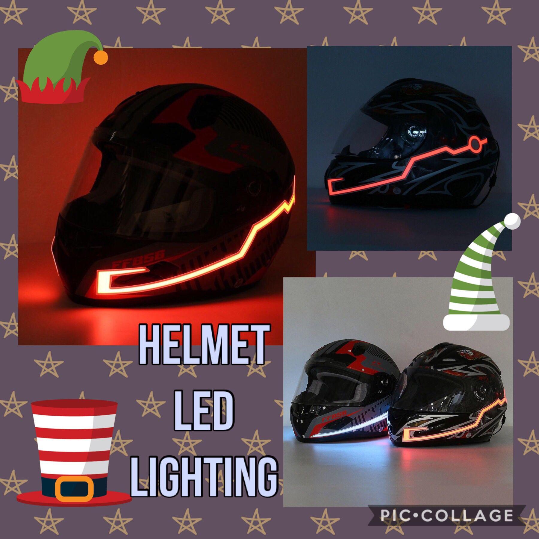 LED Motorcycle Helmet Light Strip