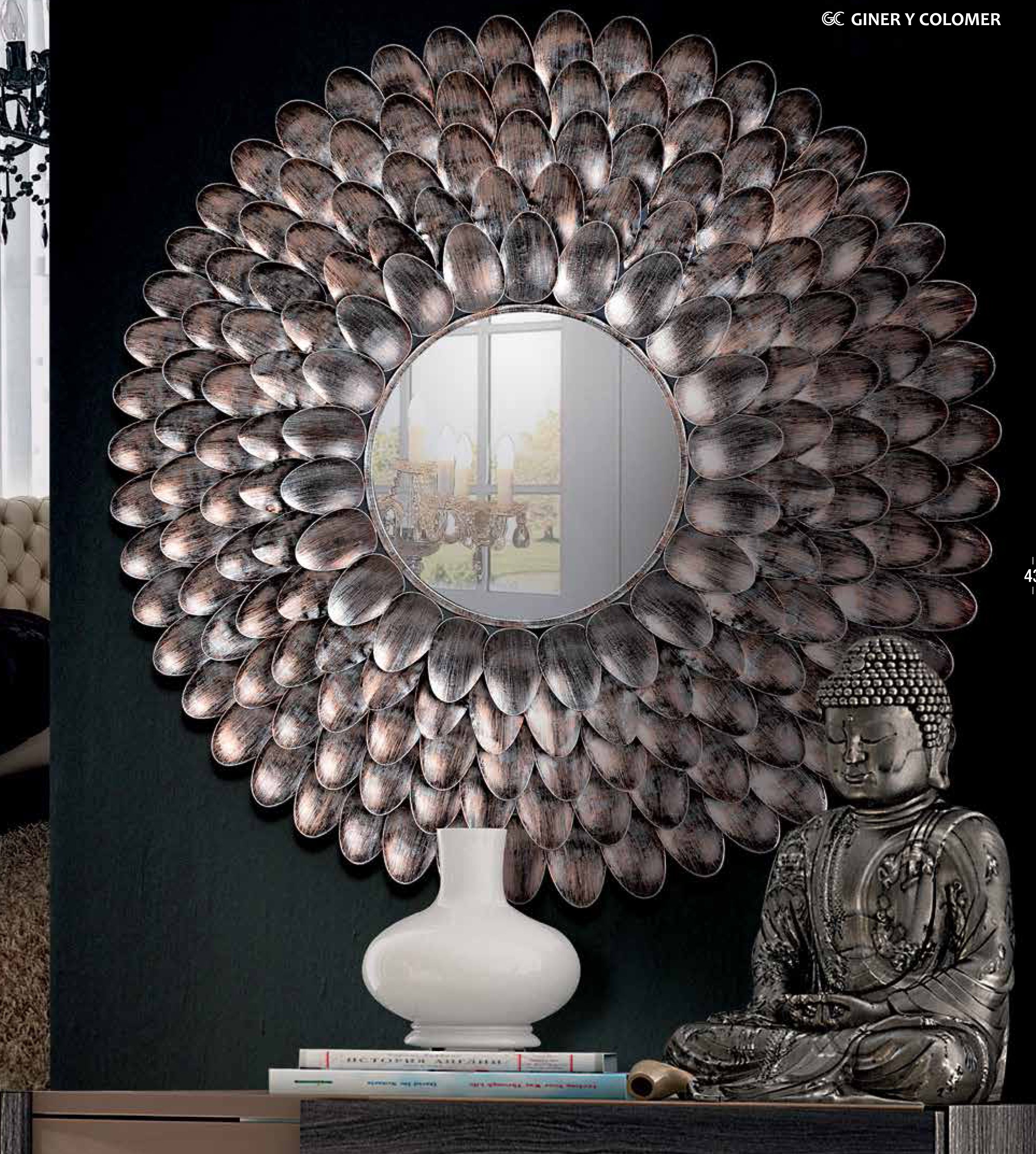 Espejo Moderno Espejo Decorativo Espejo Grande Espejo De Dise O  # Muebles Giner Y Colomer