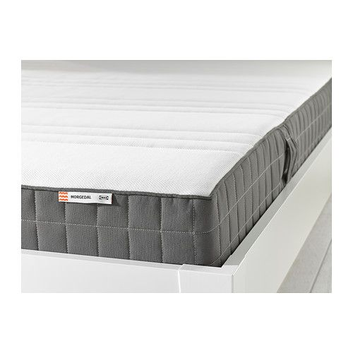 Morgedal Foam Mattress Medium Firm Dark Gray Full Foam Mattress Memory Foam Mattress Firm Mattress