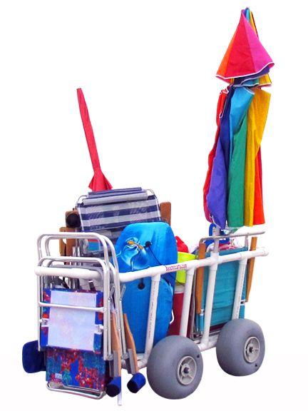 4 WHEEL \u0027BIG BOY\u0027 CART PVC Pipe projects Pinterest Plástico - sillas de playa
