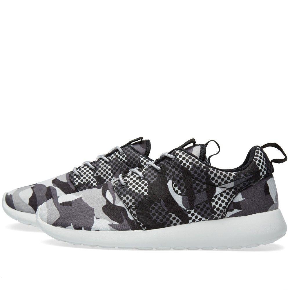 e0226307f44c Nike Roshe One Print (Summit White   Dark Grey)