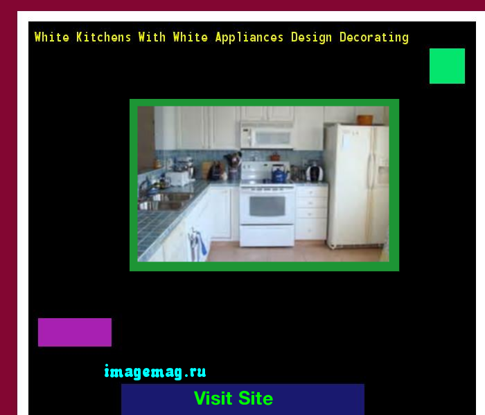 White Kitchens With White Appliances Design Decorating 095505 - The Best Image Search