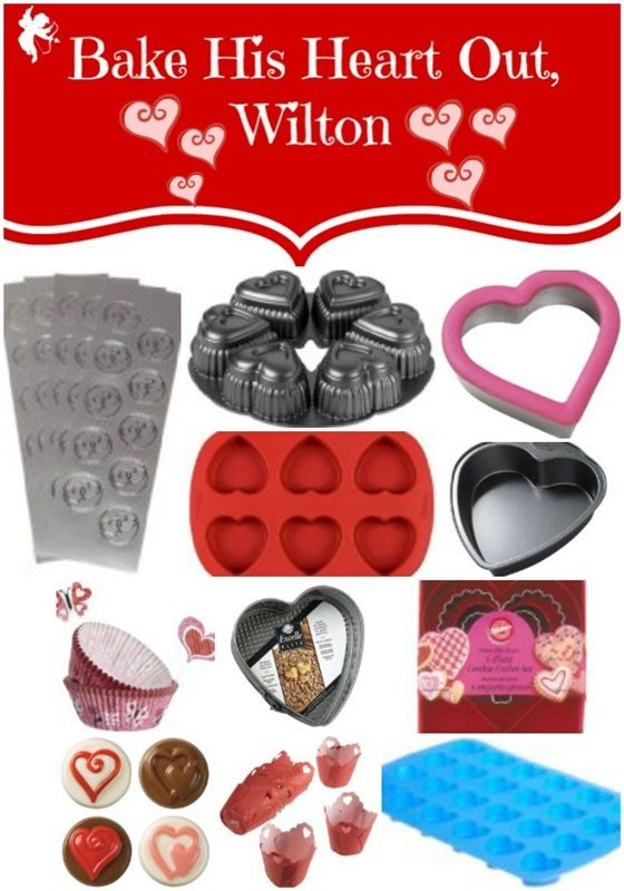 Whilton Valentine's Day Heart Baking Supplies