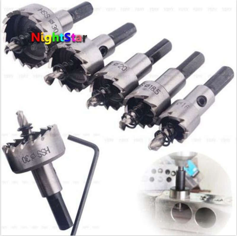 Drill Bit Hole Saw Stainless Steel Titanium Coated Metal Alloy Cutter PICK