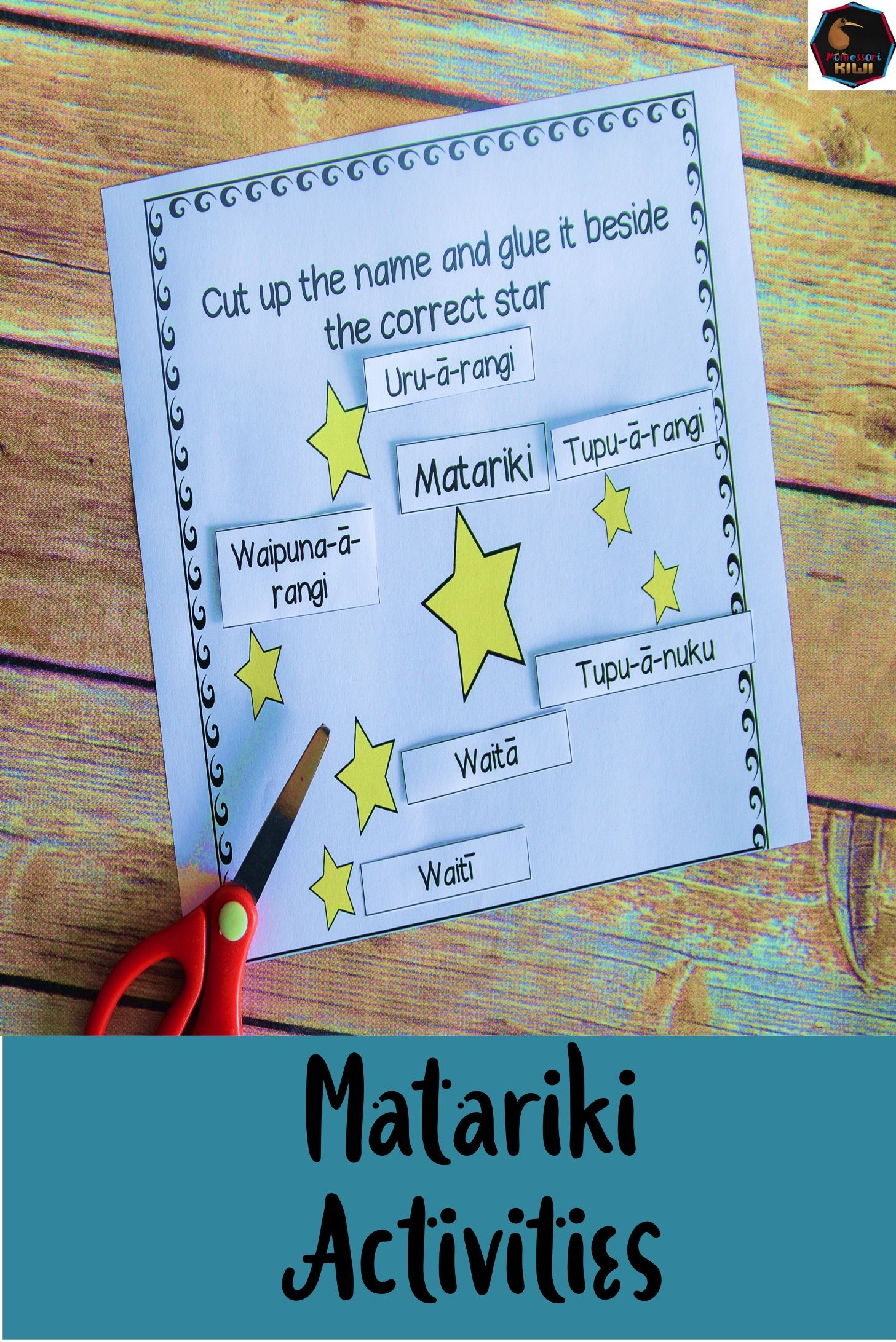 Matariki Activities Reading Printables