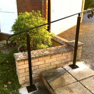 Best Wrought Iron Handrails Wrought Iron Handrail Metal 400 x 300