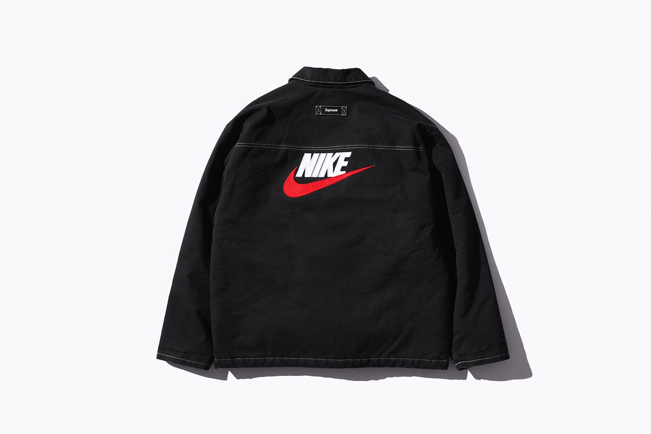 98fc3da431c3 Supreme Nike Fall Winter 2018 Collection Info NSW NikeLab Supreme Vest  Jackets Sweat Suits earrings denim jackets touques beanies outerwear winter  fall new ...