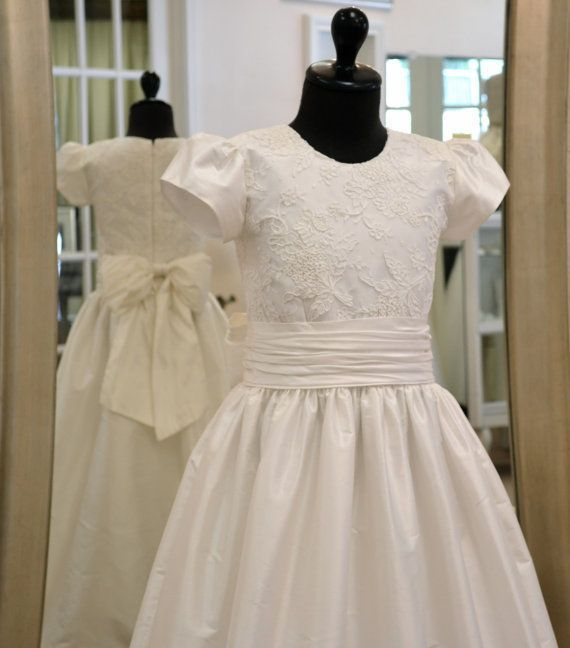 Cotillion Dress, First Communion Dress, Holy First ...