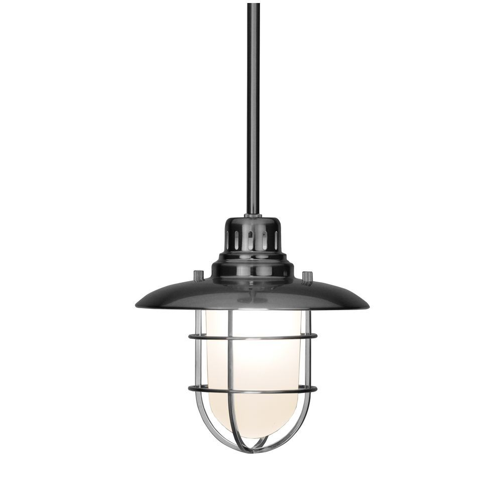Nautical Kitchen Pendant Light over the Island - Domestically Speaking