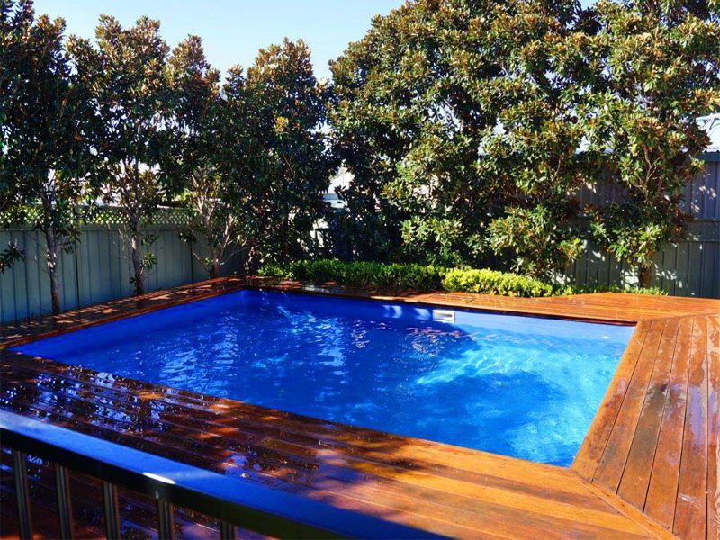Pool Coping Decking Paradise, Paradise Inground Pools