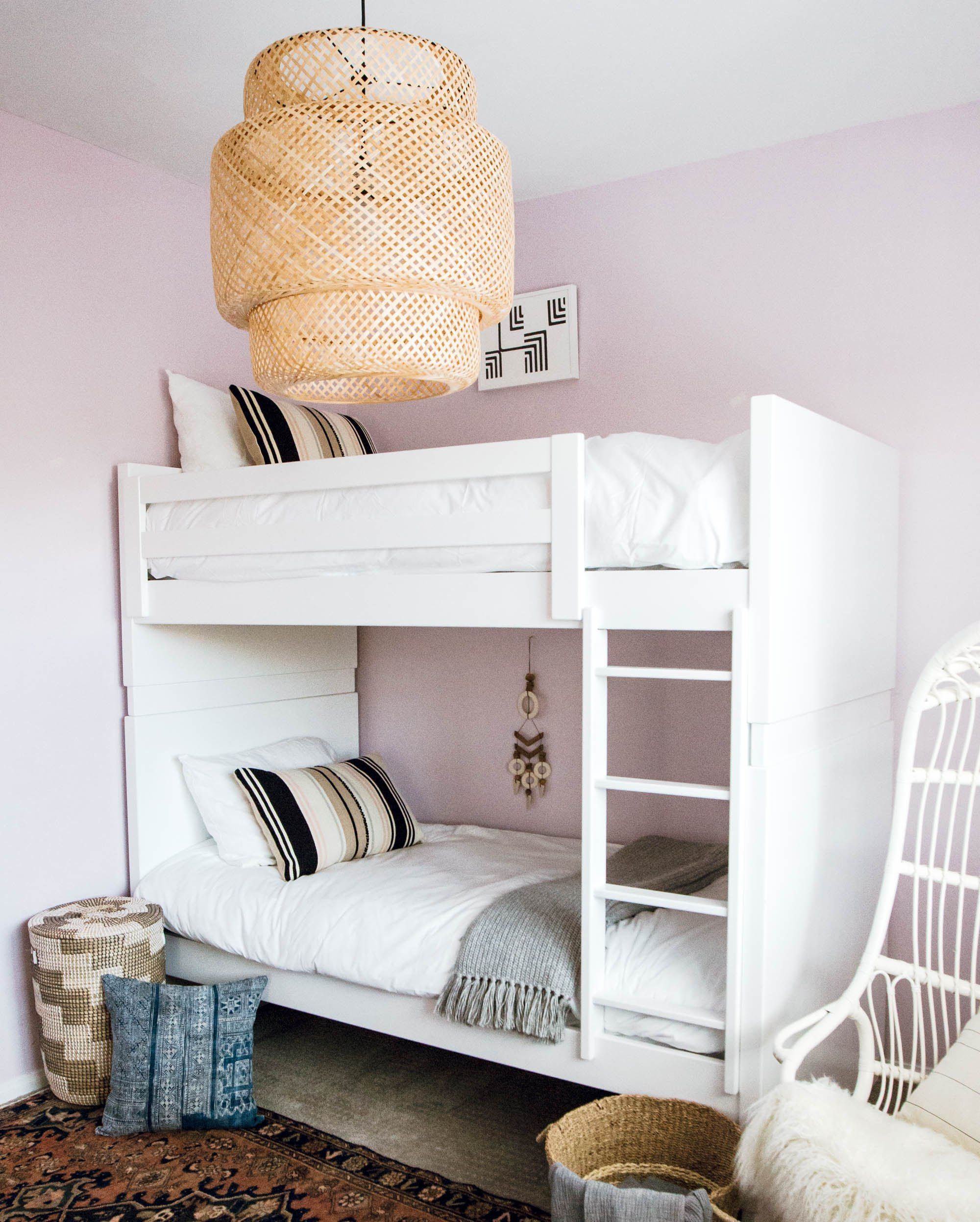 Two magical ways to save space | Modern bunk beds, Shared ...
