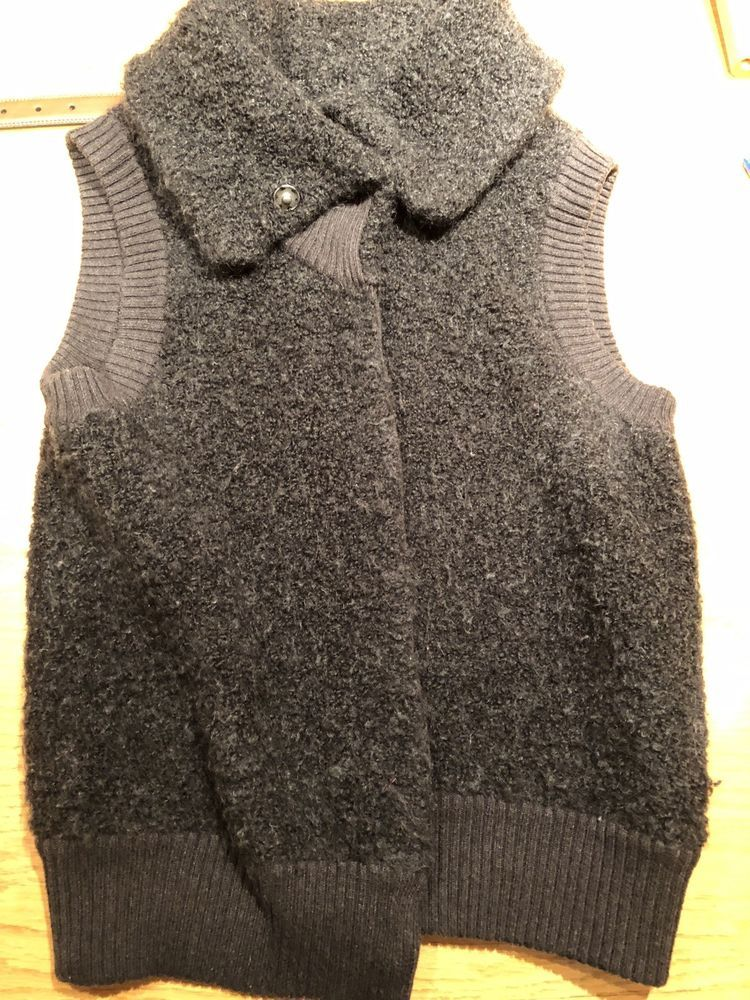 Gap Womens Open Front Sweater Vest Small Fashion Clothing Shoes