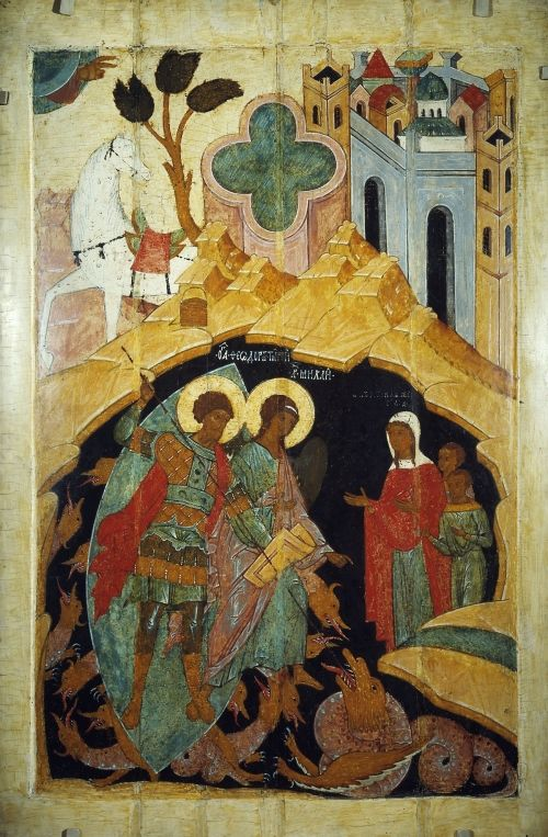 Древнерусские иконы XII - IXX вв