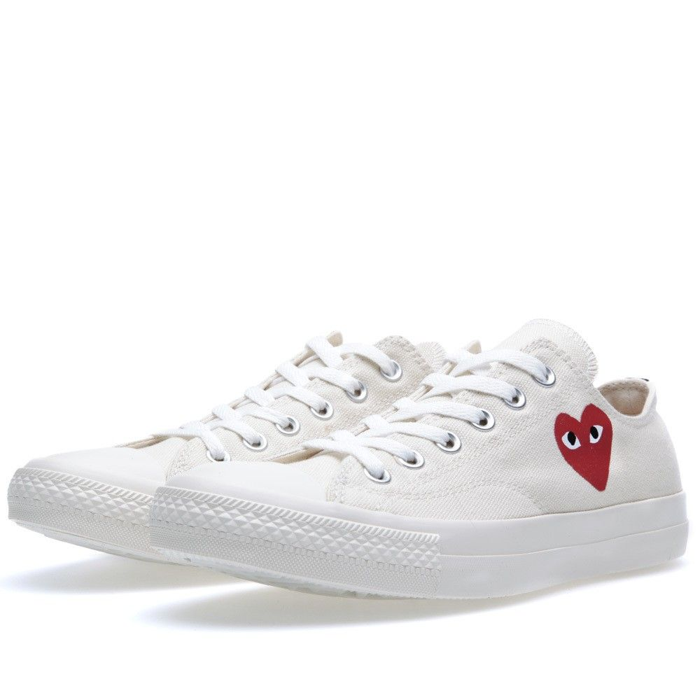Comme des Garcons Play x Converse All Star Ox (White ...