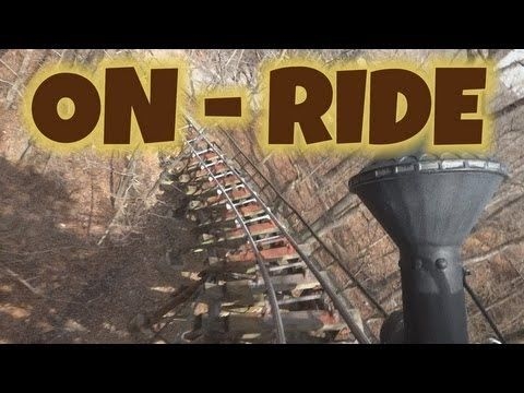 Thunderation On Ride Front Seat Hd Pov Silver Dollar City Silver Dollar City Riding Pov