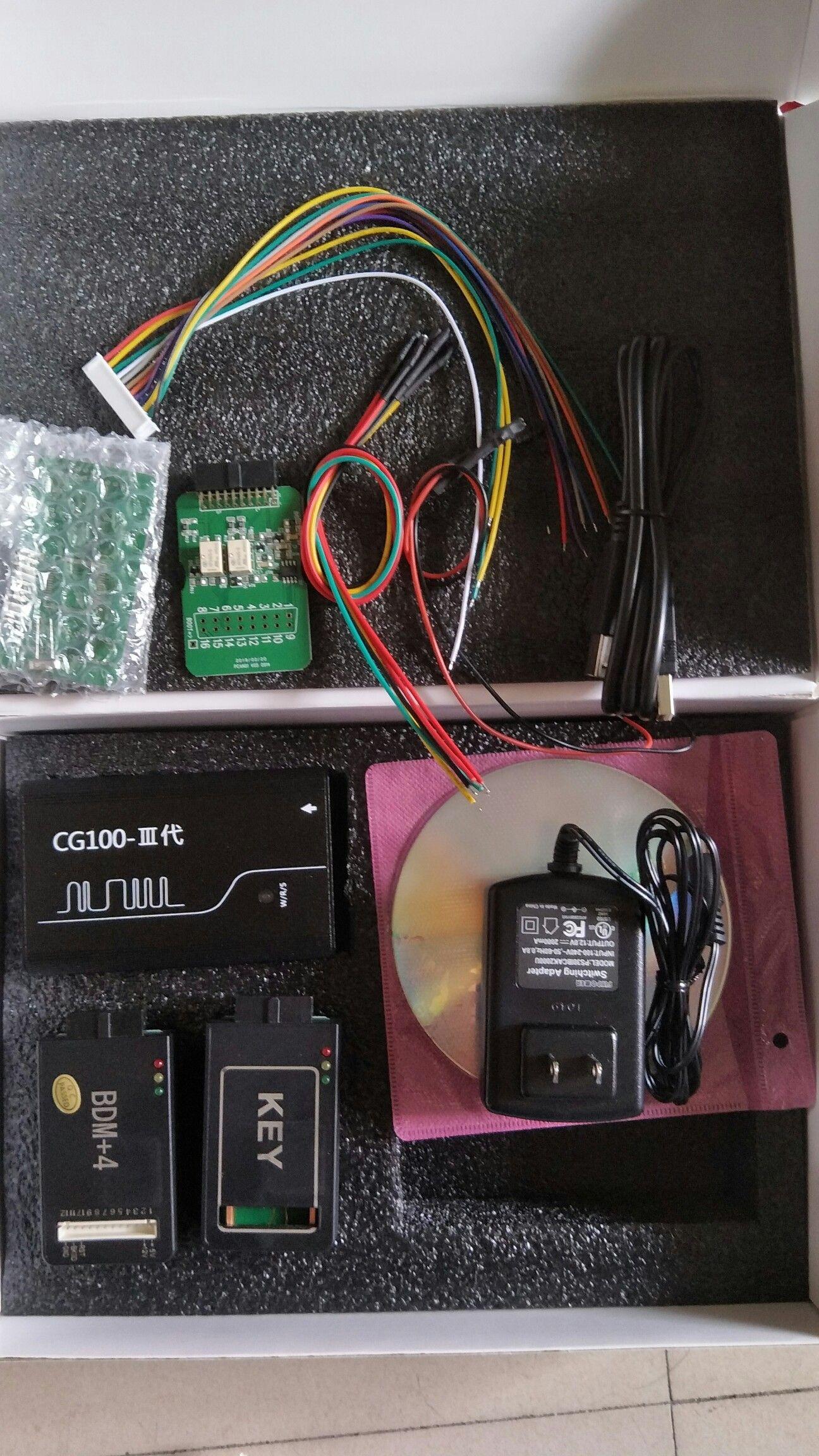 Cg100prog3 cg100 prog iii airbag restore devices cg100
