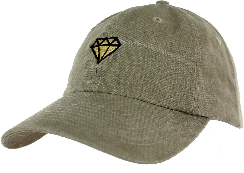 cbcc36ce326f5 Brilliant Cap Dad Hat Diamond Embroidered Baseball Cap - BRAND Essencial  Caps