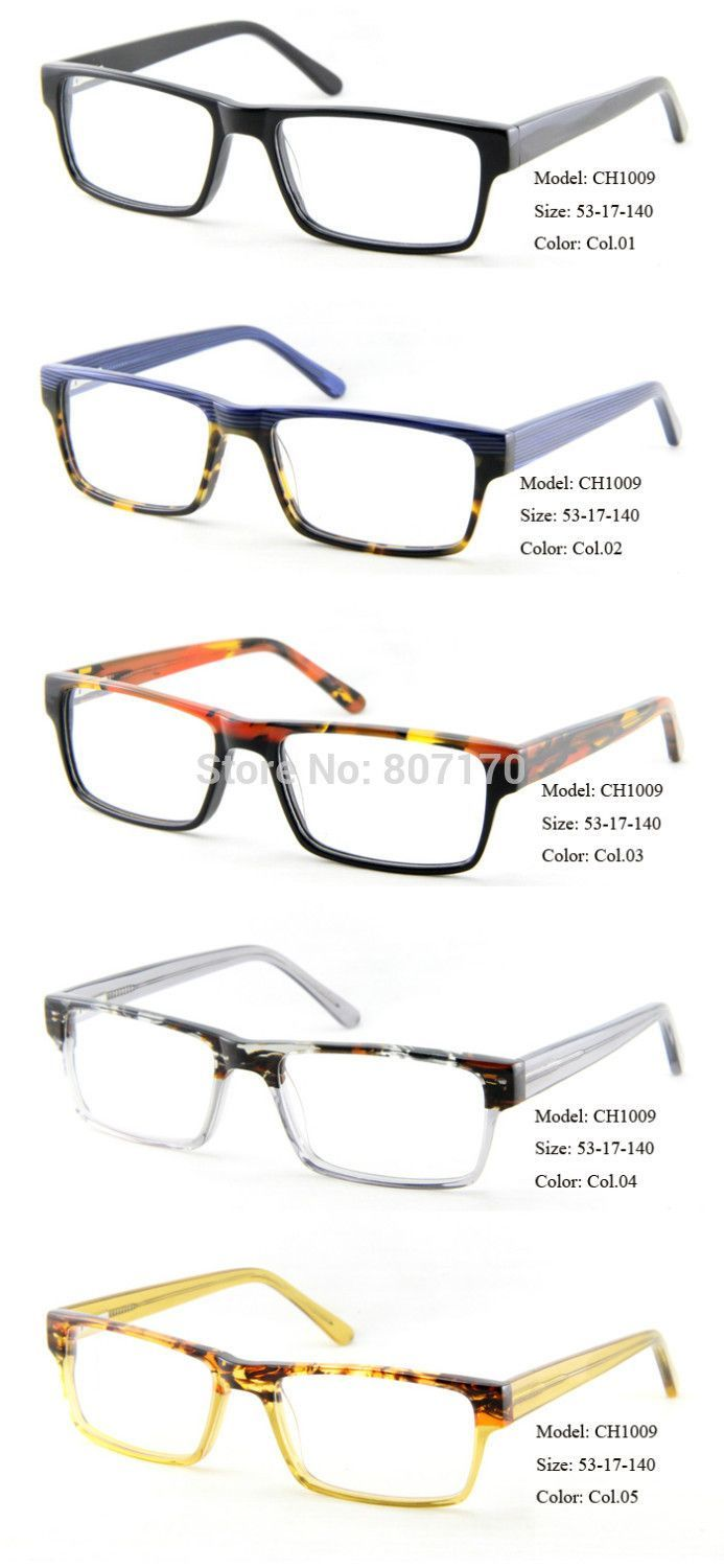 Wholesale eyes glasses frames Lunettes Brand Optical Frame Glasses ...