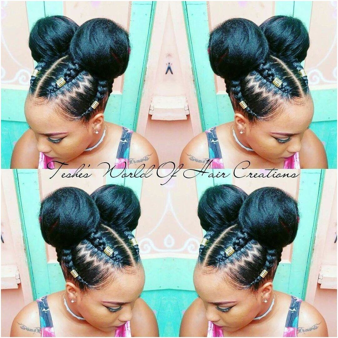 Braids buns protectivebraidshairstyles click this image for more