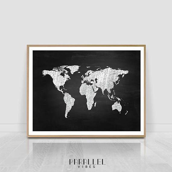 Check out this item in my etsy shop httpsetsylisting check out this item in my etsy shop httpsetsylisting558909116 world map print world map world map wall printable wall art pinterest gumiabroncs Image collections
