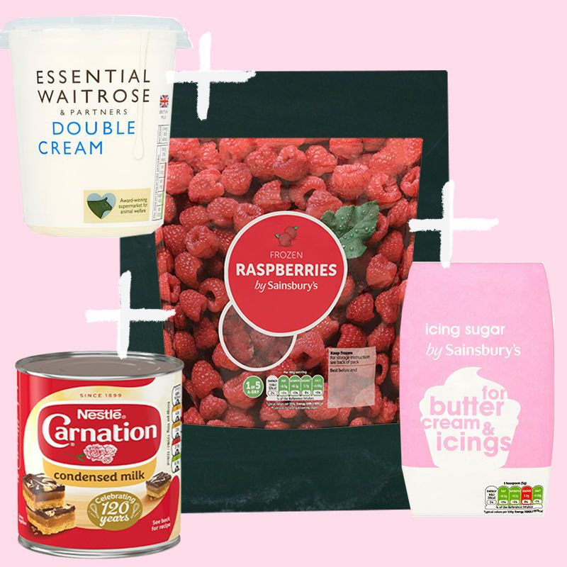 Food maths frozen raspberries food raspberry ripple