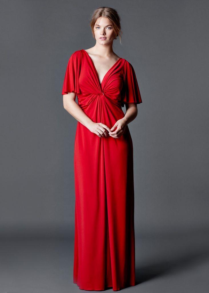 Rojo De Para Ropa Verano Violeta Gorditas Moda Largo 2015 Vestido By qZ6OxTAPw