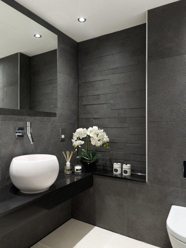 Carrelage salle de bains et 7 tendances à suivre en 2015 Splish splash - salle de bain ardoise