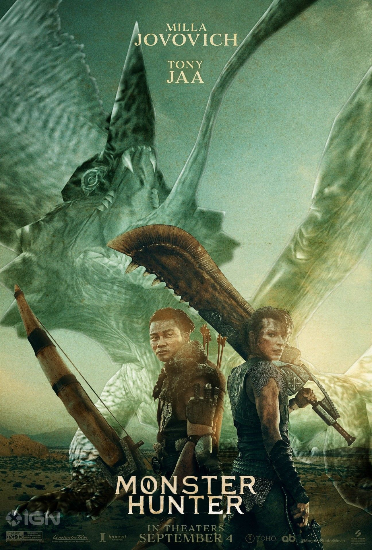 Monster Hunter Movie Release Date Confirmed Monster Hunter Movie Monster Hunter World Monster Hunter
