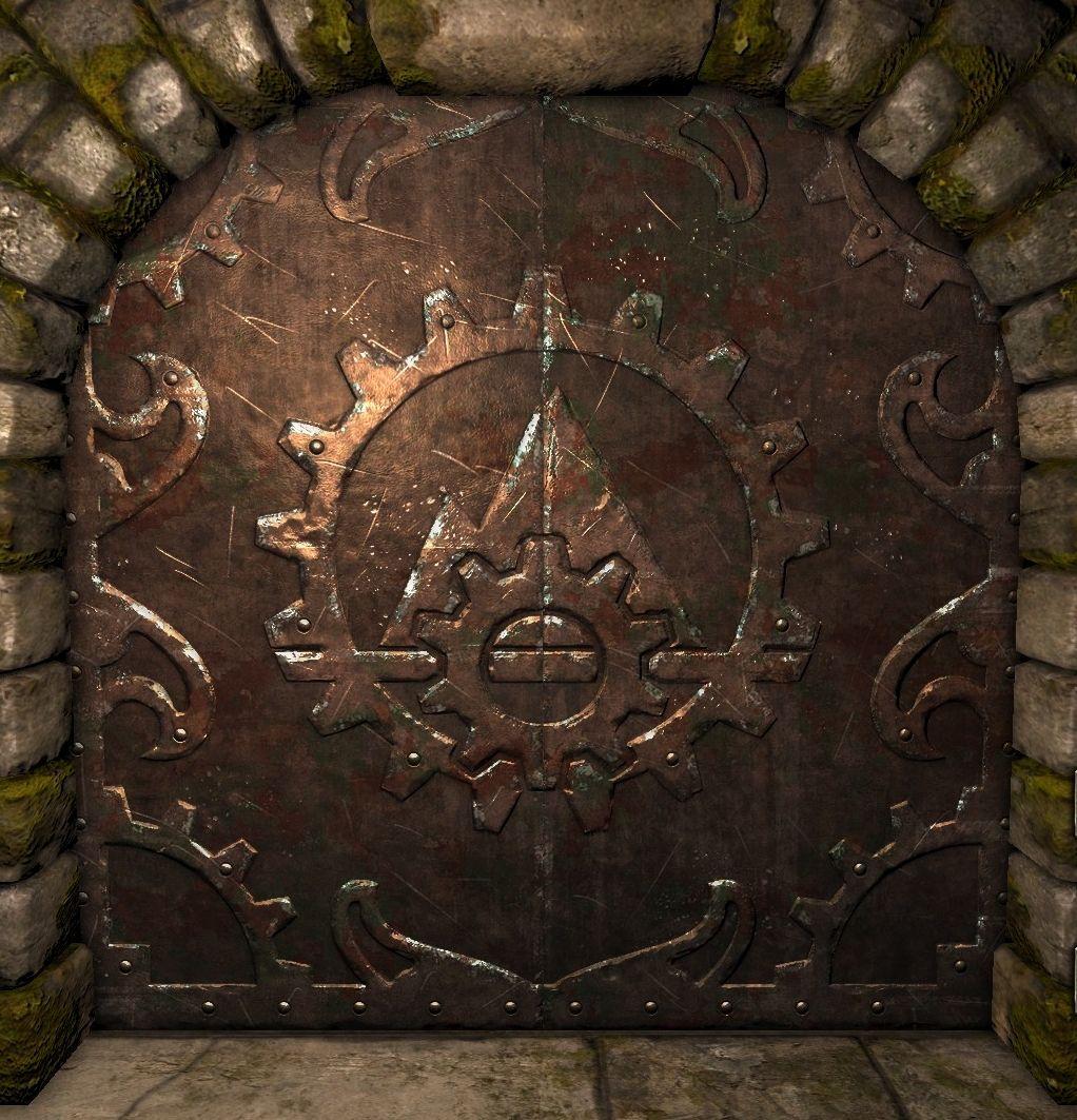 dungeon dooeway | Iron Doors - Legend of Grimrock Wiki  sc 1 st  Pinterest & Iron Doors | Iron and Doors