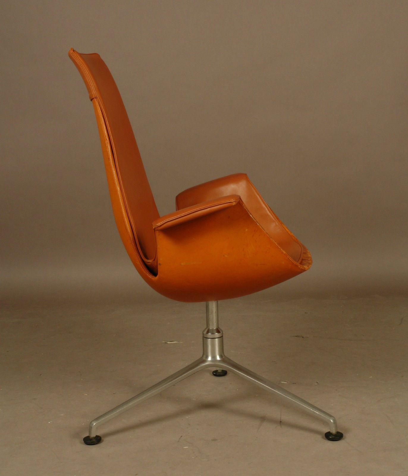 Chaise Fauteuil De Bureau Design Scandinave Vintage De Fabricuis