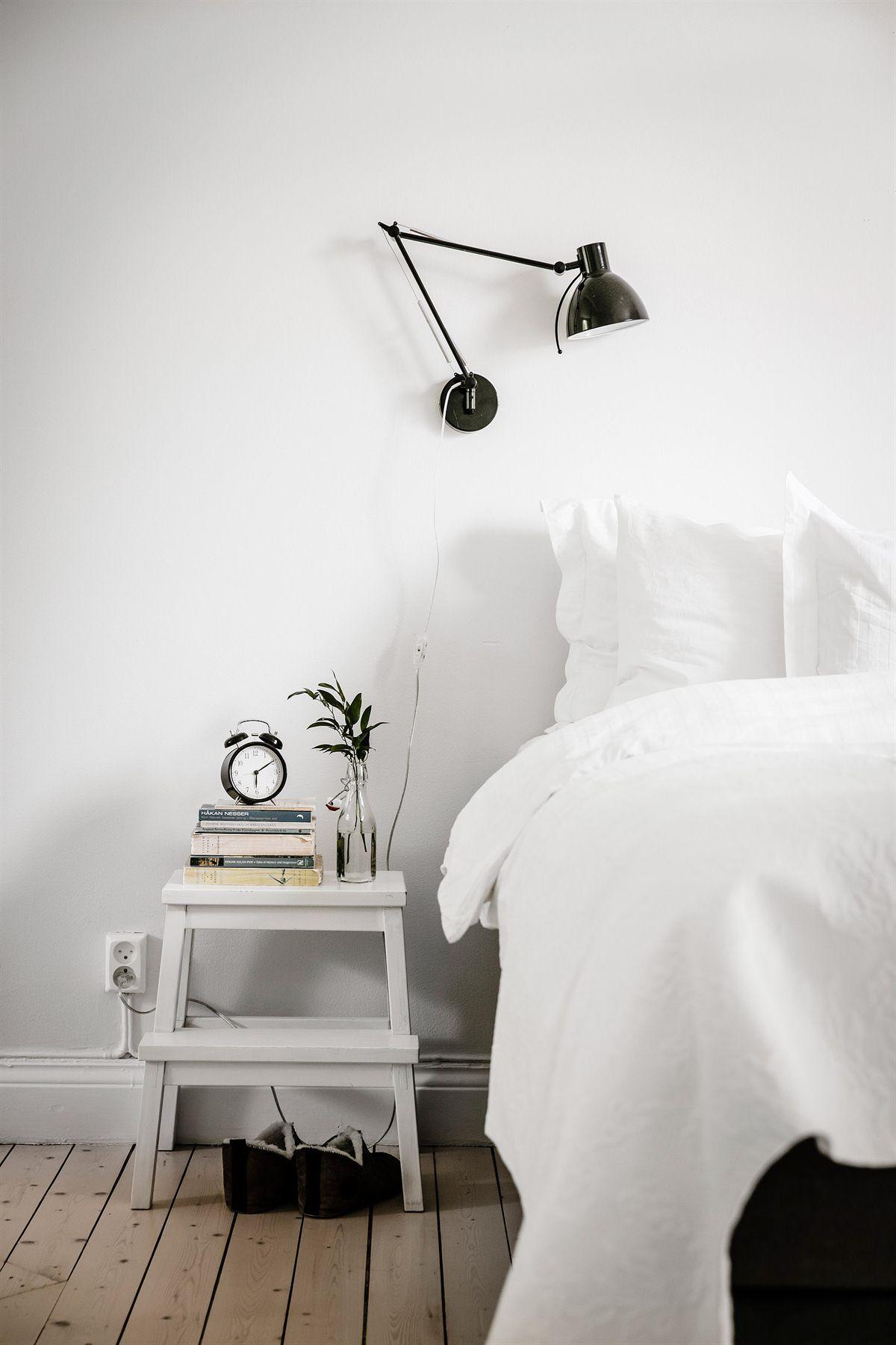 Hocker Nachttisch Ideen Fur Kleine Schlafzimmer Zimmer Kleines