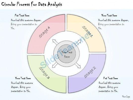 1113 Business Ppt Diagram Circular Process For Data Analysis - data analysis template