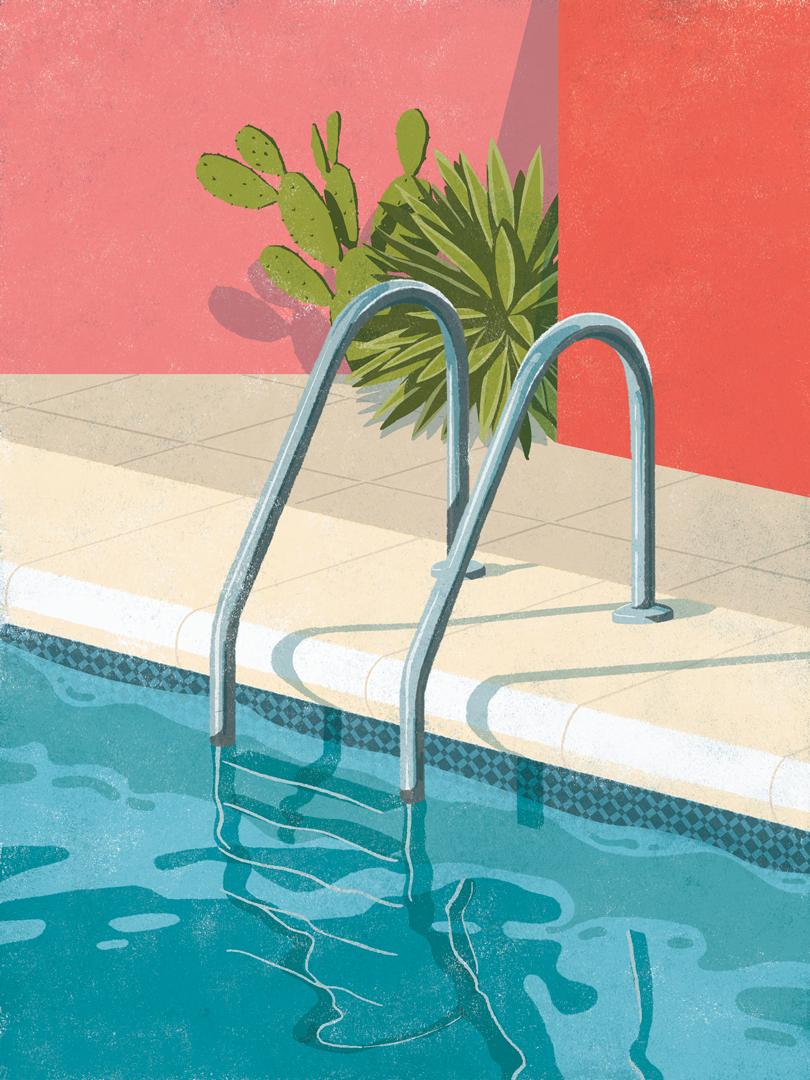 52 Sweltering Hot Summer Illustrations | Design & Paper