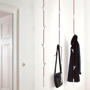Authentics Garderobe authentics wardrope garderobe weiss rot amazon de küche haushalt