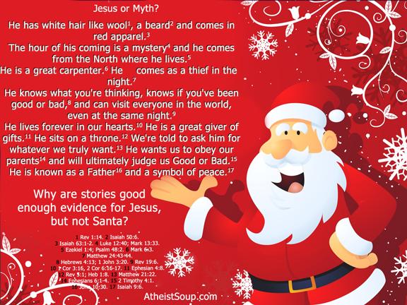 stories prove jesus but not santa - Santa Claus And Jesus 2