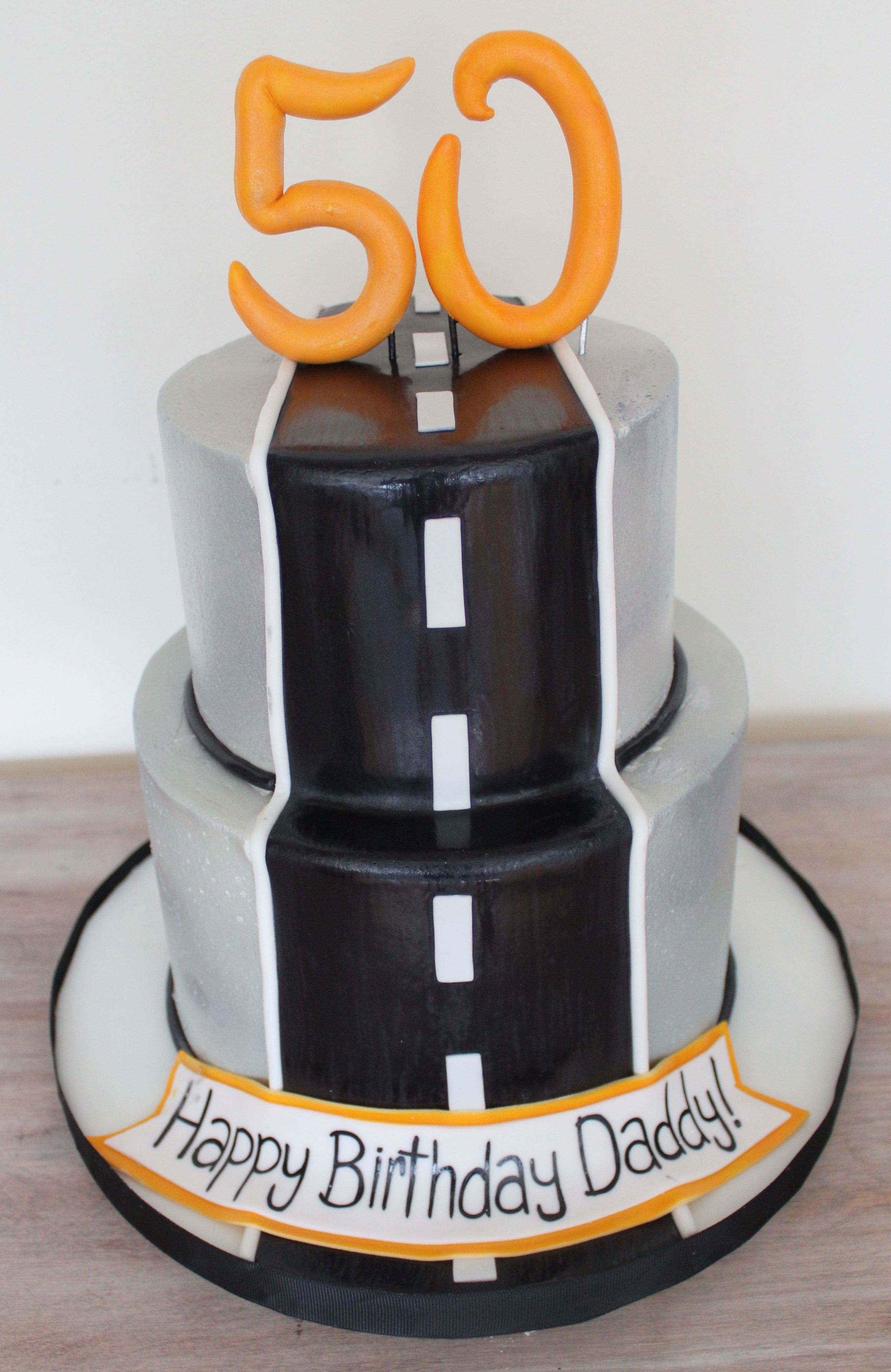Male Birthday Cake 50th With Odd Job Bits With Images Birthday
