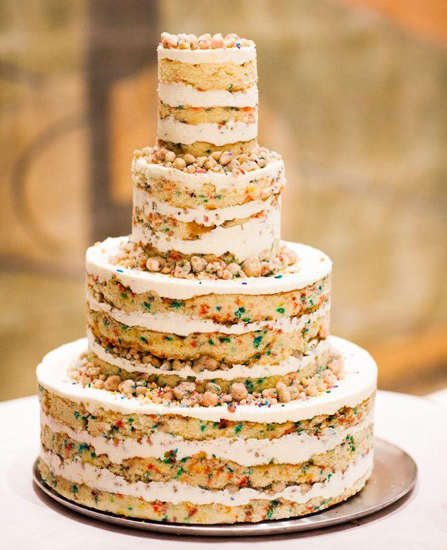 A Funfetti Wedding Cake? (Yes Please) | cakes | Gay wedding cakes
