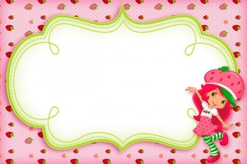 Kit Imprimible De Frutillitas Para Decorar Cumpleaños Gratis