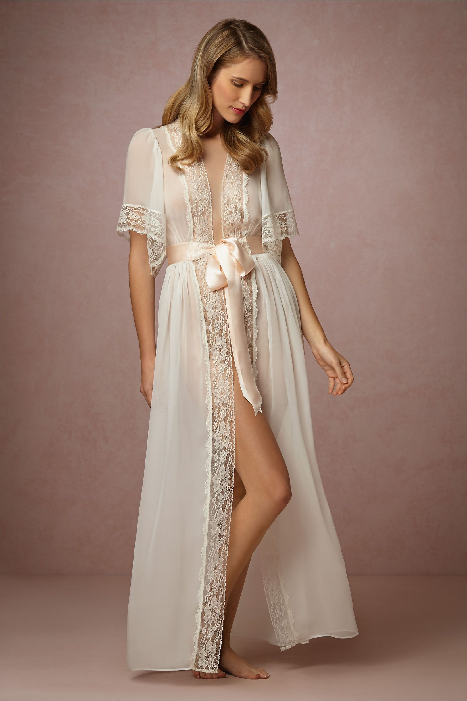 Starlet Robe in Lingerie View All Lingerie at BHLDN   Nightgown ... 235cbe95f327