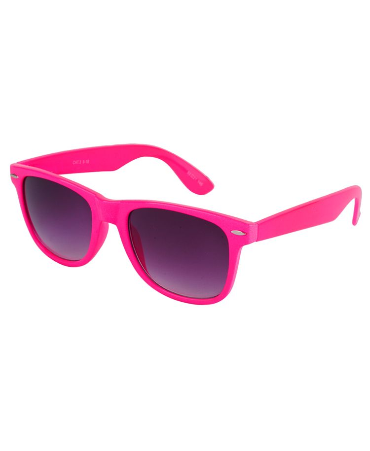 Hot Pink Wayfarer Sunglasses  632de3146c066