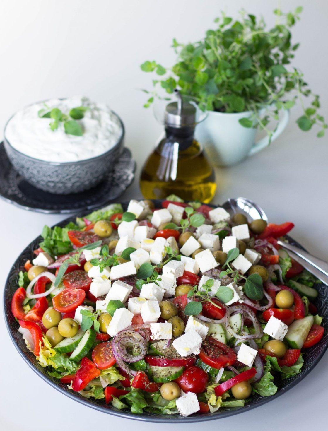 matig grekisk sallad
