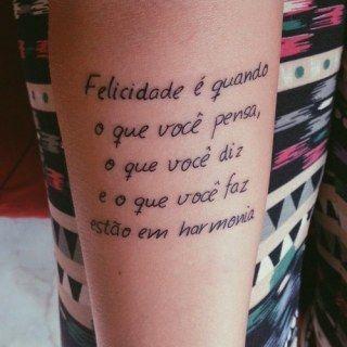 63 Ideias De Frases Para Tatuar Tatuajes Pinterest Tatoo - Frases-para-tatuar