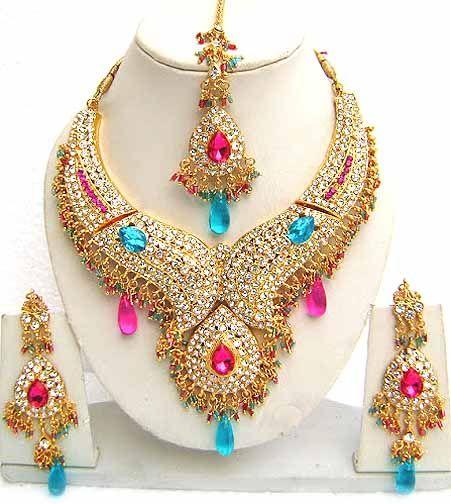 Diamond Bridal Jewelry Set NP-110