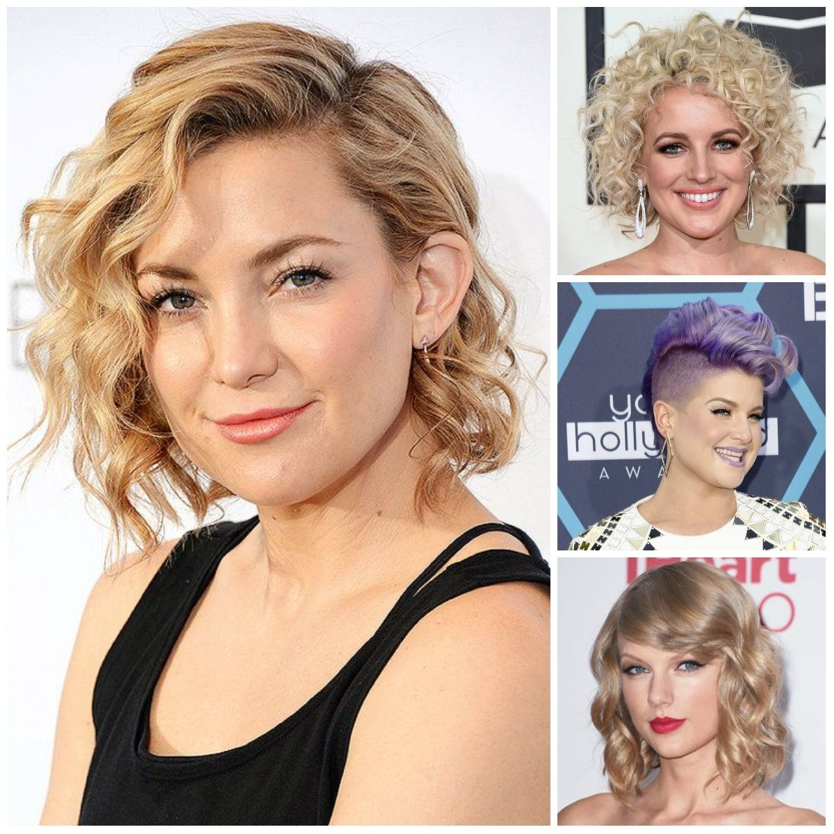 Medium Short Curly Hairstyle 2017 Hairstyles With Bangs For