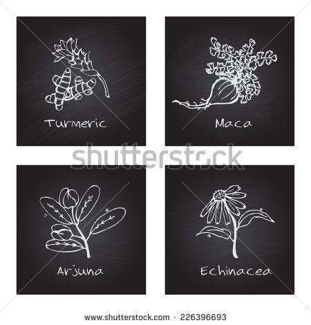 chalk zentangles | ... Chalkboard. Natural Supplements. Turmeric, Maca, Arjuna, Echinacea