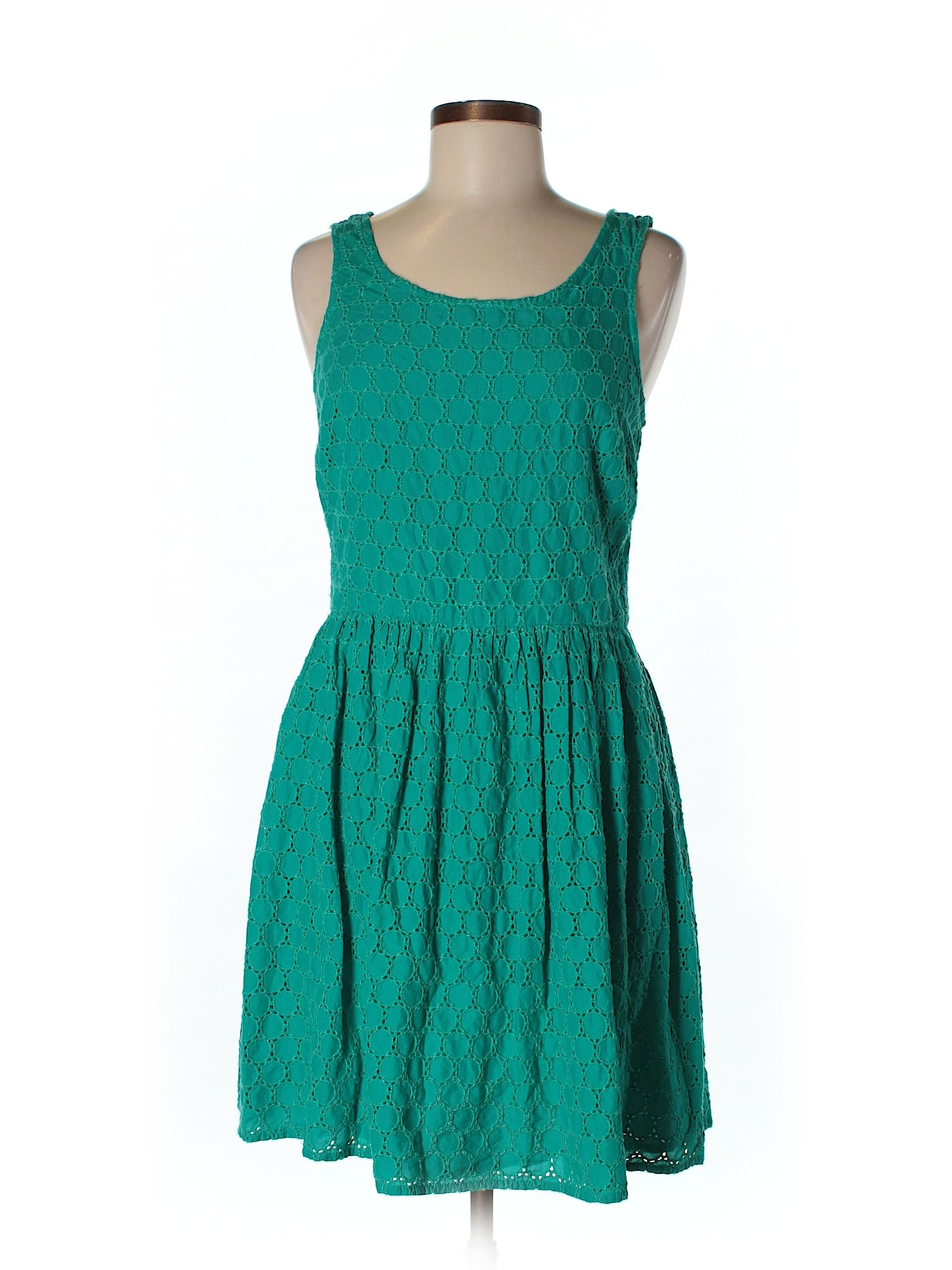 Old Navy Casual Dress Teal Womens Dresses  31546493