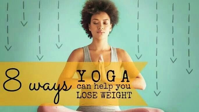 8 Ways YOGA Can Help You Lose Weight