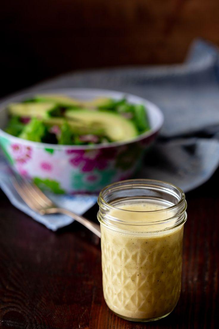 Apple Cider Vinegar Salad Dressing   - gf dressing -