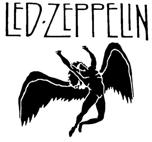 The Root Of All That Rocks Led Zeppelin Logo Led Zeppelin Angel Led Zeppelin Tattoo